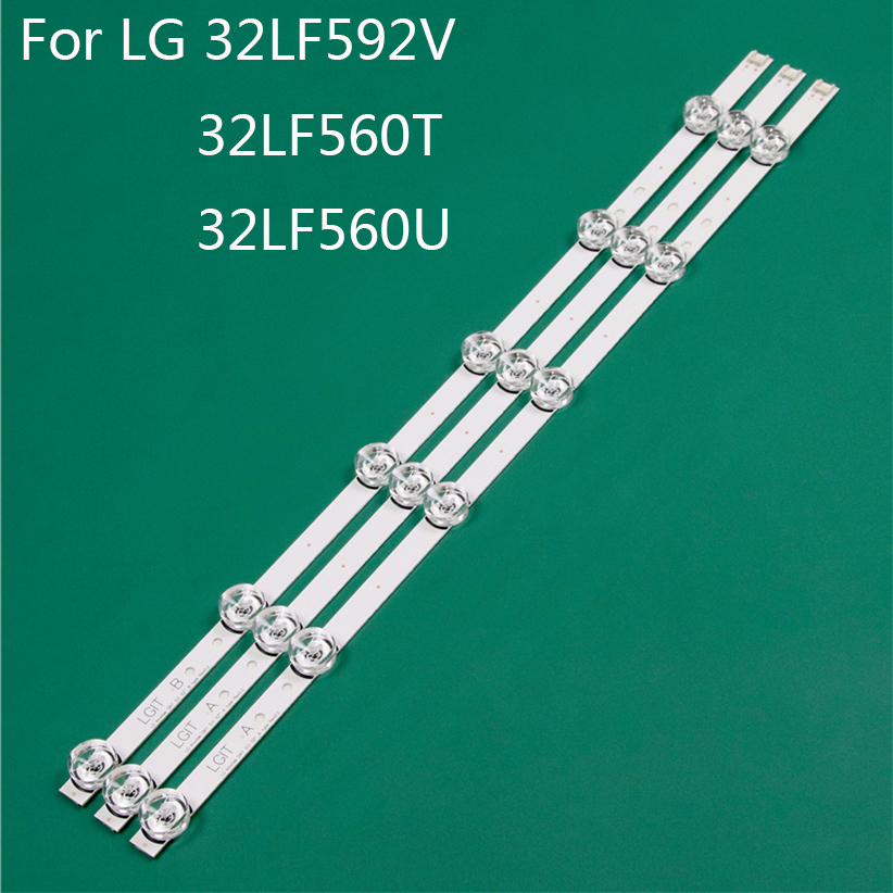 LED TV Illumination Part Replacement For LG 32LF560U-ZB 32LF560T-TA 32LF592V LED Bar Backlight Strip Line Ruler DRT3.0 32 A B