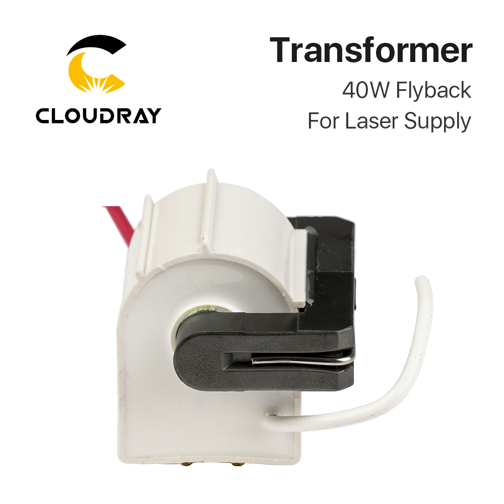 Cloudray 40W High Voltage Flyback Transformer Model C For CO2 40W Laser Power Supply