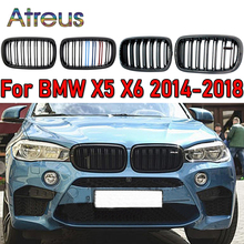 1Set Vervanging Voor Bmw F15 F16 X6 X5 2018 2017 2016 2015 2014 Grille/Roosters Nier Sport stijl M Power Car Accessoires