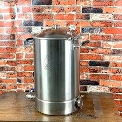 55L وعاء ، المرجل ، خزان ، التخمير مع غطاء جرس التقطير ، تصحيح ، الصلب الصحي 304