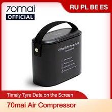 70mai – compresseur à Air électrique pour pneus de voiture, gonfleur de pneus de moto et de vélo, Original, 12V