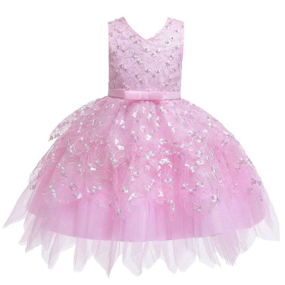 CHILDREN'S Dress 2019 New Style A Year Of Age Baby Princess Dress Multilayer Lace Hem Tutu