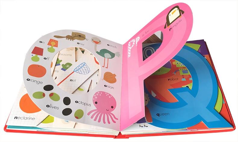 2 libros/juego mi increíble número de alfabeto libros de cartón inglés bebé niños aprendizaje educativo palabra libro en forma de letra    2