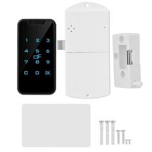 Image 1 - חדש בית חכם דיגיטלי RFID סיסמא מנעול קשר לוח מקשים אלקטרוני קבינט נעילת משרד חכם מנעול