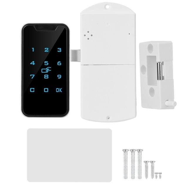 חדש בית חכם דיגיטלי RFID סיסמא מנעול קשר לוח מקשים אלקטרוני קבינט נעילת משרד חכם מנעול