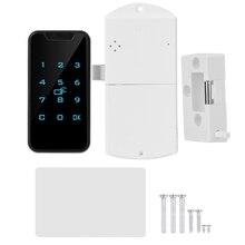 Yeni ev akıllı dijital RFID şifreli kilit temas tuş takımı elektronik dolap kilidi ofis akıllı kilit