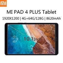 Планшет Xiaomi MI Pad 4 Plus, ультратонкий, 10,1 дюйма, 1920X1100 HD, Android, Snapdragon 660, 4 Гб ОЗУ 64/128 Гб ПЗУ, аккумулятор 8620 мАч