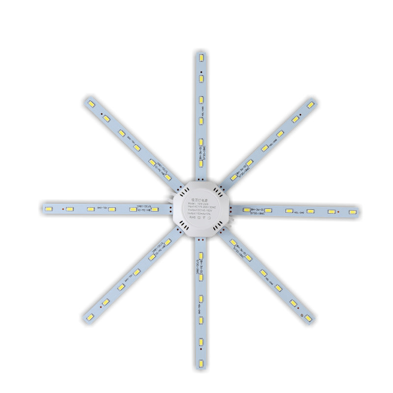 LED Ceiling Lamp 12W 16W 20W 24W LED Bulb Light 220V PCB Board Octopus Tube 5730SMD Energy Saving Lamp