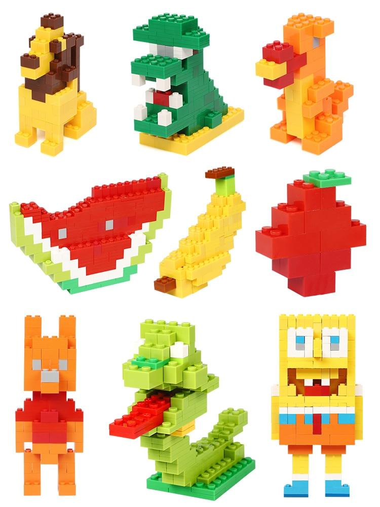Kids Toys Bricks Model Building-Blocks Constructor Educational Creative 200-1000pcs DIY