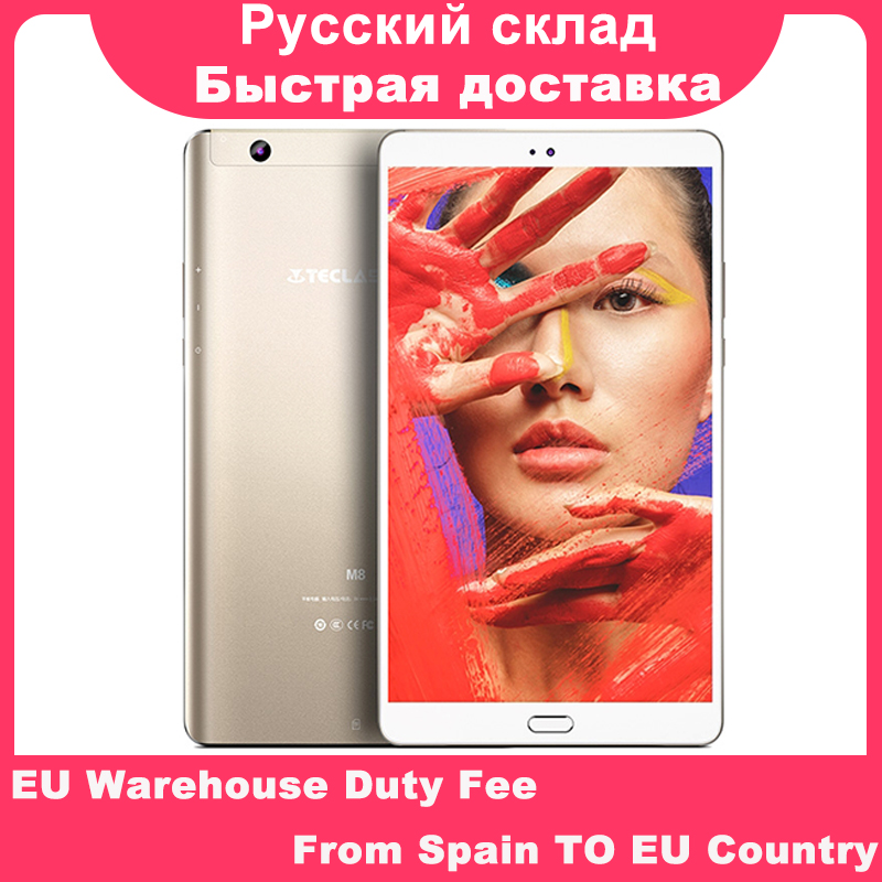 Teclast M8 8.4 Inch  2560x1600 Quad Core 4K Video G-Sensor Tablets 3GB RAM 32GB ROM Wifi Dual Camera Android Tablet