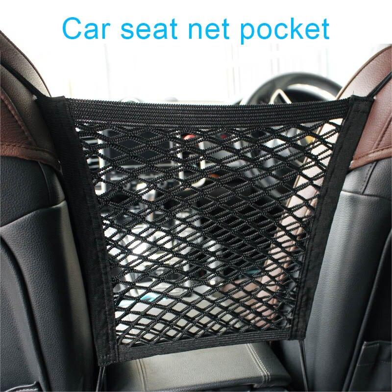 Car Seat Mesh Organizer Storage Cargo Net Pockets Luggage Hook Pouch Holder mesh trunk luggage net trunk net mesh car