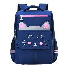 waterproof Children School Bags For boys Girls Schoolbag Kids cat School Bag Book bags primary School Backpacks Mochila Infantil(China)