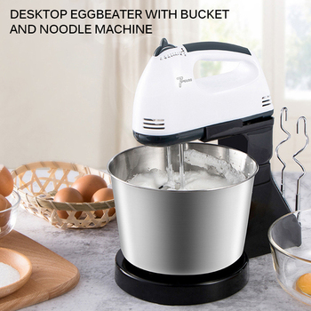 Commercial 1500W multifunctional Dough Mixer Household Electric Food Mixer stainless steel 7L Egg Cream Salad Beater cake mixer