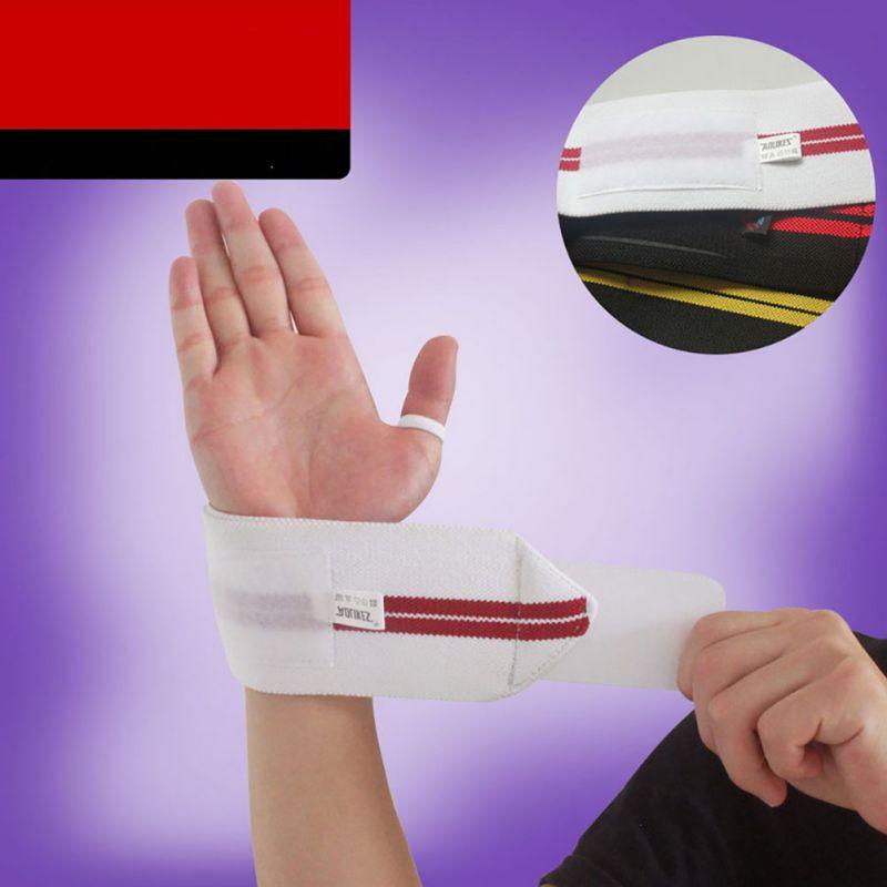 1 paire haltérophilie poignet soutien gymnase Fitness Sport entraînement professionnel main bracelet sangles enveloppes gardes - 6