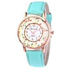 Leather Strap Quartz Fashion Watch F617-A Women's Watches Ladies Wristwatch Top Brand Luxury Girl Quartzwatch(China)