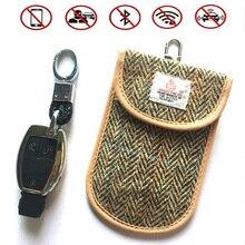 Keychain Signal-Shielding-Case Faraday-Card-Keys Privacy-Protection RFID for BAG1049