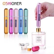 Oshioner 8Ml Parfum Spray Hervulbare Fles Aluminium Spray Verstuiver Draagbare Reizen Cosmetische Container Parfum Fles