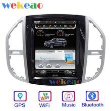 Wekeao Vertikale Bildschirm Tesla Stil 12.1 Android 10 Auto Dvd Multimedia Player Für Mercedes Benz Vito Auto DVD Player 4G 2016 +