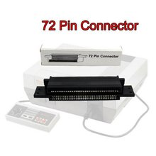 72 Pin Connector Adapter For Nintendo NES Game  Replacement Part Nes Slot Socket
