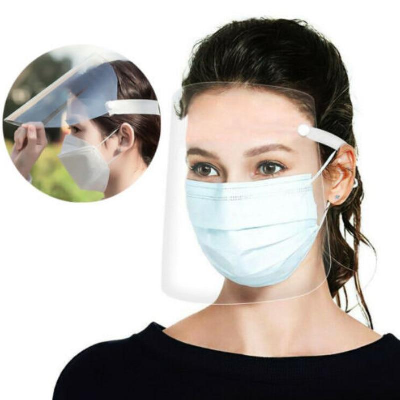 2020 New Anti-Dust Transparent Protective Mask 1pcs Professional Dental Safety Face Mask Shield Anti-smog Detachable