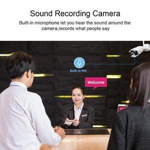 Image 4 - H.265 8CH NVR 3MP كاميرا لاسلكية طقم NVR واي فاي نظام الأمن 3MP الصوت الصوت في الهواء الطلق CCTV IP كاميرا P2P مجموعة مراقبة الفيديو