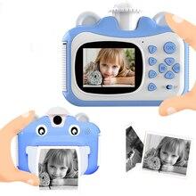 Pickwoo Kid Toy Mini Digital Cute Camera for Kids Baby Children's Toys Photo Instant Print Camera Birthday Gift for Girls Boys