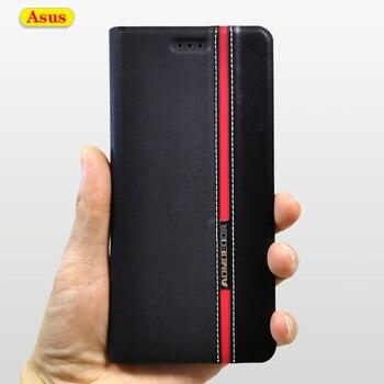 Кожаный чехол-книжка для Asus Zenfone ZB601KL ZB602KL ZB555KL ZC554KL ZC520KL ZB633KL ZE520KL ZC520TL ZE552KL