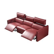 electric recliner relax massage theater living room Sofa bed functional genuine leather couch Nordic modern диван мебель кровать