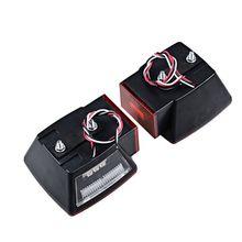 Светодиодный светильник для прицепа, комплект, задний тормоз, лодка, грузовик, стоп, указатель поворота, погружной A6HE