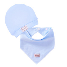 Baby Bibs Double Layer Cotton Burp Cloths Saliva Towel Cap and Bib for Newborn Baby Soft Baby Bib Apron Baby Accessories cheap Fashion Solid Baby Clothing Unisex 0-3M 4-6M 7-9M 10-12M 13-18M 19-24M 2-3Y pink blue yellow Support