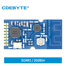 E01C-ML01SP2 2.4GHz 20dBm RF Module Wireless Transceiver Transmitter Receiver SMD Package SPI Interface PCB IPEX Antenna