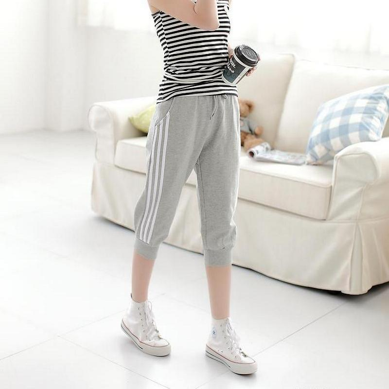 2020 Fashion Women's Track Pants Summer Outdoor Cropped Pants High Quality Cotton Casual Women's Pants