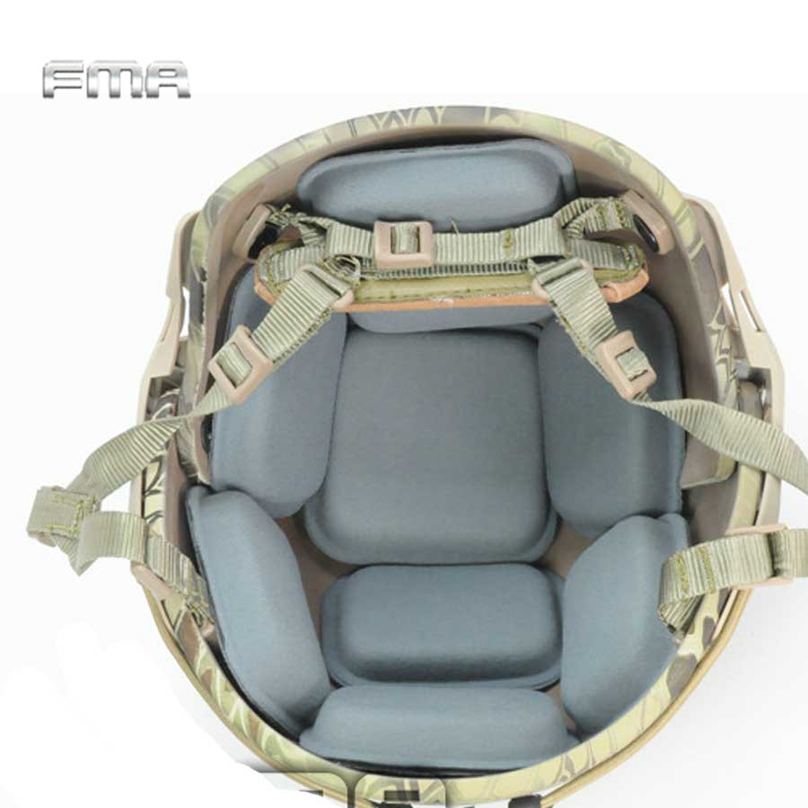 FMA защитная накладка для шлема страйкбольная Военная защитная накладка для шлема CP шлем для пейнтбола Wargame Подушка аксессуары для шлема