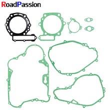 Acessórios da motocicleta kit de gaxeta da cabeça base do cilindro para kawasaki klr650 klr 650 1987 1988 1989 1990 1991 2010
