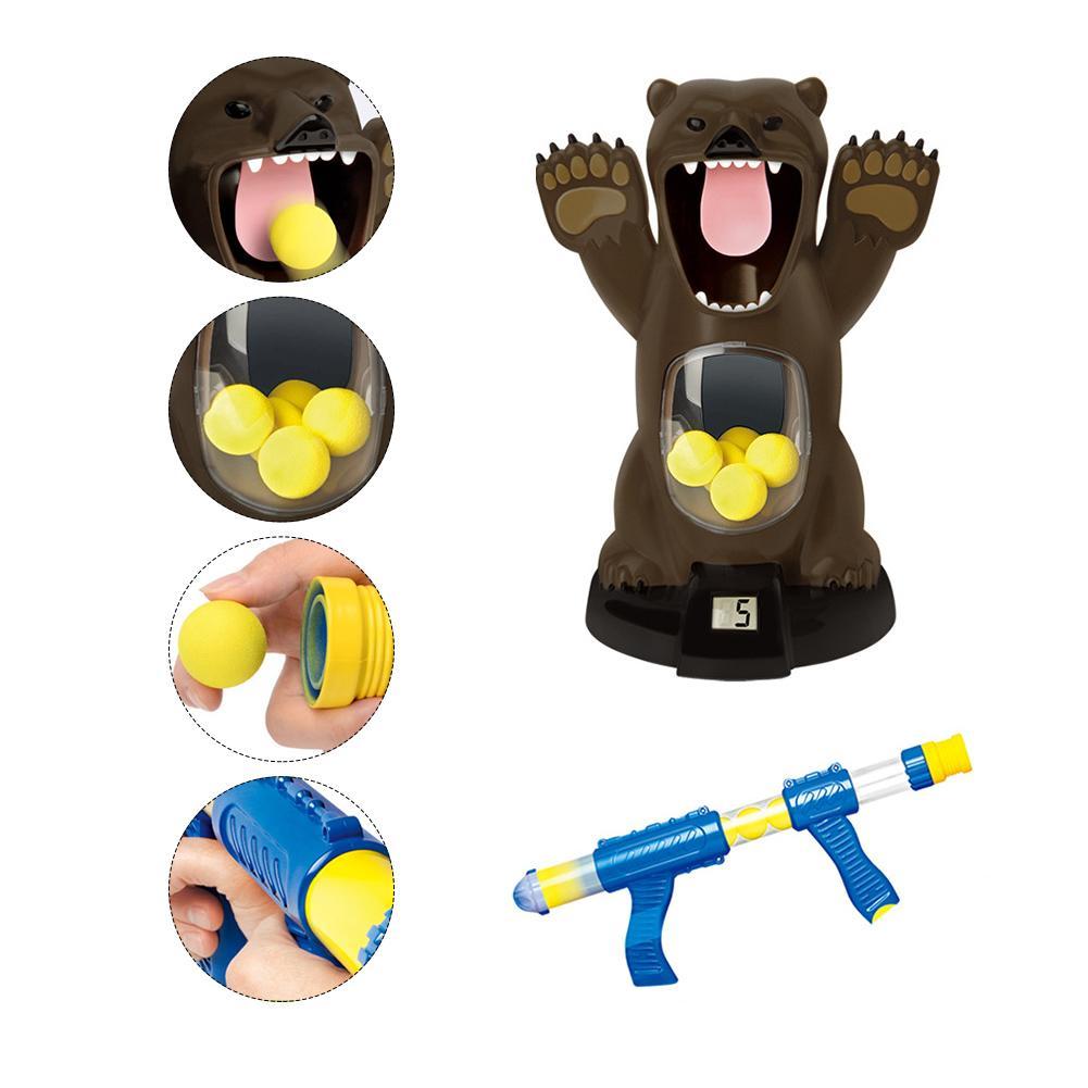 espuma bola tiro bomba de ar brinquedo