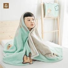 Nova youpin youpin como living crianças nuvem cobertor macio como uma nuvem de pele-amigável quente e respirável