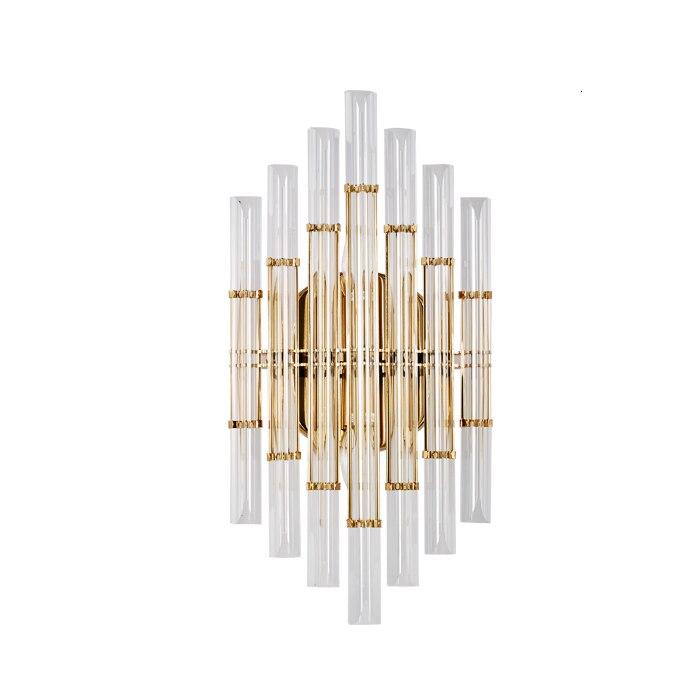 Simig Modern European Creative Crystal Luxury Wall Lamp For Bedside Led E14 Wall Light Sconce Steam Punk Wall Light Fixture