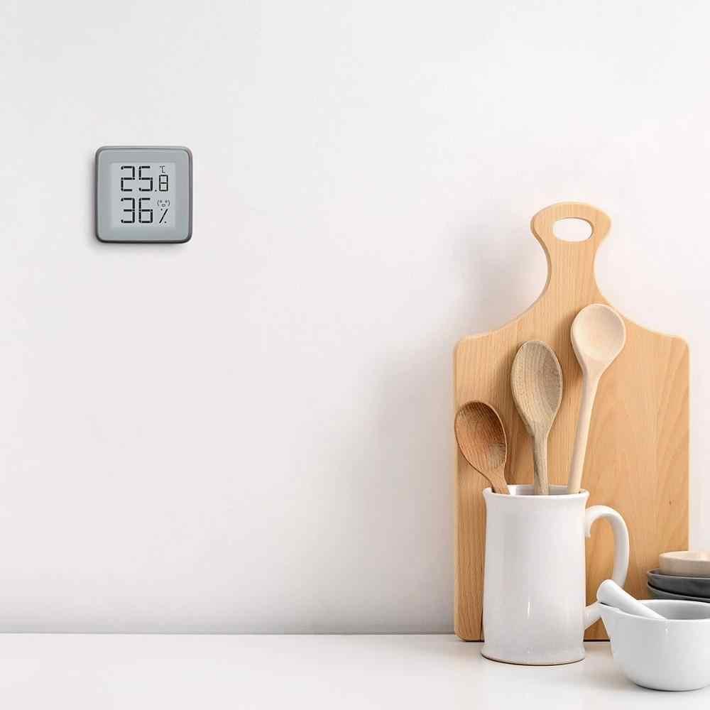 Miaomiaoce e-インクスクリーンスマートブルートゥース温度計湿度計温度湿度センサー水分計携帯電話アプリ
