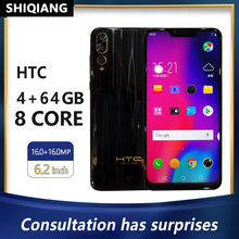 SHIQIANG HTC VR Mobile Phones 16MP+16.0MP 4GB+64GB Smartphone 6.2 Inch 4000mAh Cell Phones 4G LTE Octa Core Global Version Phone