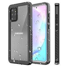Thể Thao Ngoài Trời Chống Thấm Nước Da Ốp Lưng Thể Thao Xây Dựng Bảo Vệ Màn Hình Trong Cho Samsung Galaxy S20 S20 + S20Ultra
