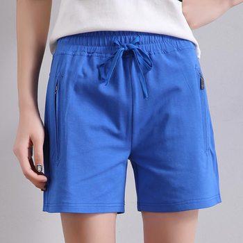 2019 New Summer Women Casual High Quality Shorts Fashion Ladies Cotton Shorts 1