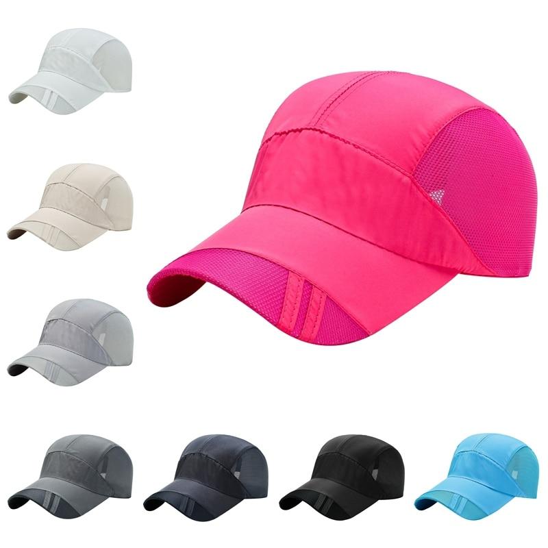 Unisex Men\'s Women Outdoor Sport Summer Portable Sun Visor Hat Autumn Baseball Hat Running Visor Sun Cap Quick-dry Waterproof