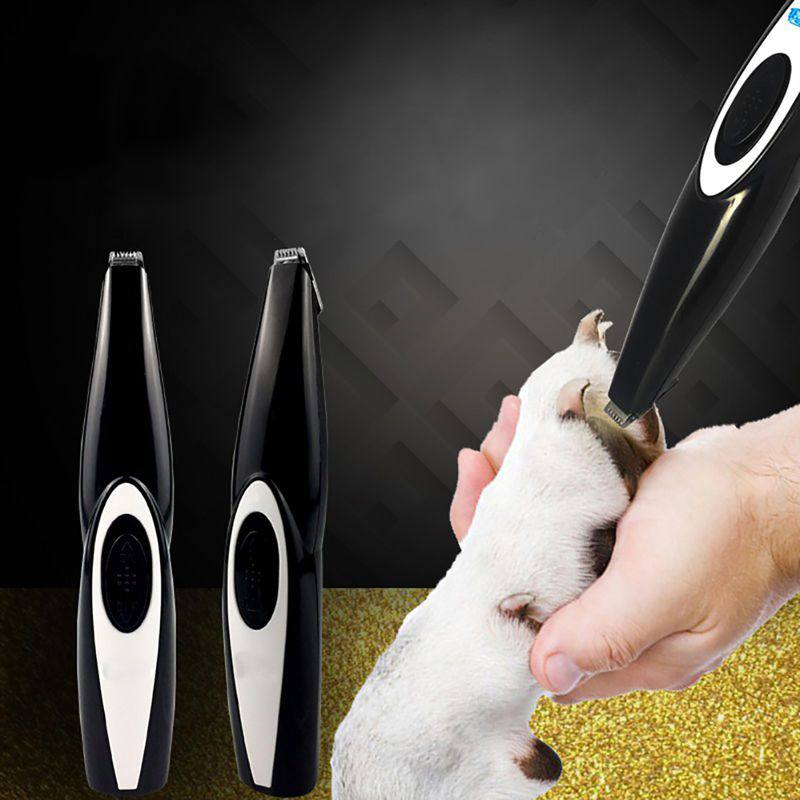 2019 HOT Professional USB Dog Trimmer Shaver Pet Grooming Tool Dog Hair Trimmer Pet Supplies Dog Hair Trimmer With Groomer in Dog Hair Trimmers from Home Garden
