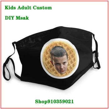 Hot sale DIY masque adulte lavable Eleven washable face mask kids mouth mask with design funny mascarilla reutilizable