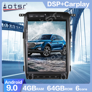 AOTSR Android 9.0 PX6 Tesla Vertical screen Car GPS Navigation For Ford F150 For Ford Raptor 2009-2012 Multimedia Player Carplay(China)