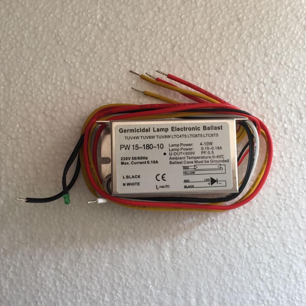 High Quality For TUV 4W ,TUV 6W ,TUV 8W ,TUV 10W UV Ballast