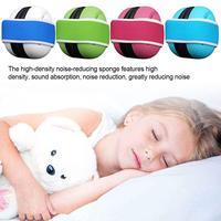 Наушники с шумоподавлением для новорожденного ребенка, Звукоизолированные наушники с эластичным ремешком, защита от сна и детей