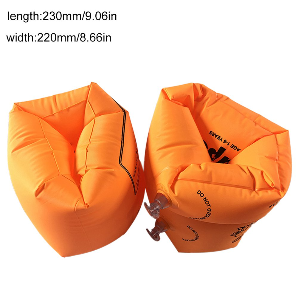 Adult Inflatable Roll-ups Inflatable Swimming Arm Ring Oversleeve Floats Swimming Ring Double Balloon Pool Float Swim Arm Circle