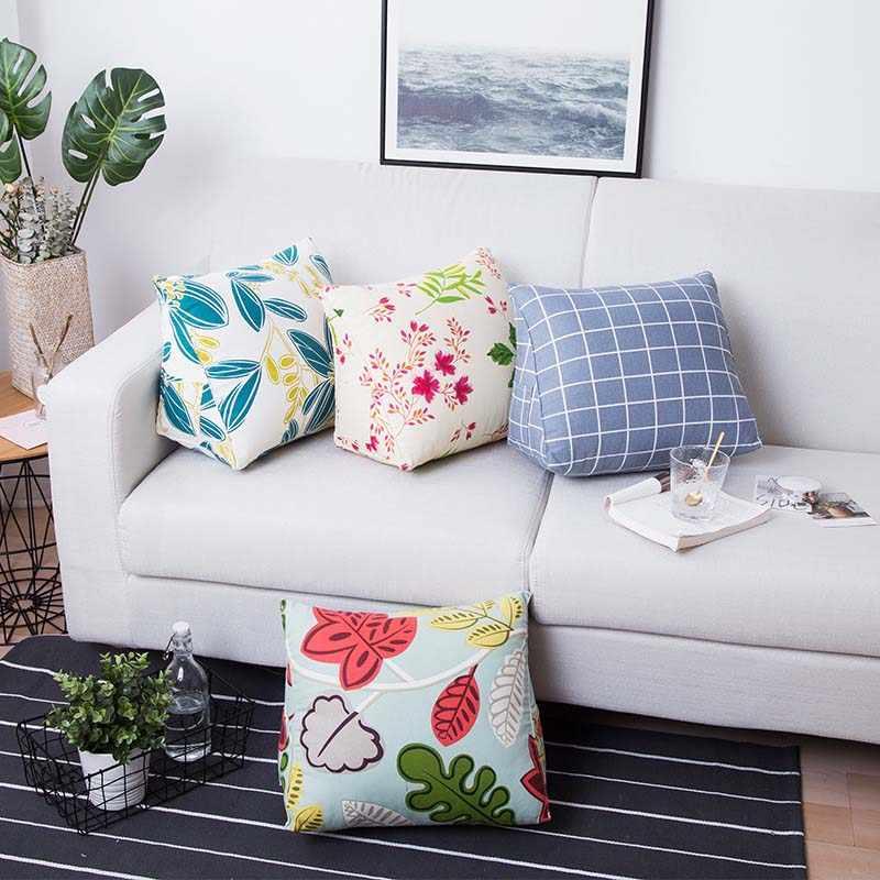 bed irregular rest cushion sofa pillow