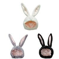 Disfraz de conejo para mujer, traje con accesorios, sombrero de conejo, gorro de Estilo conejo para fiesta